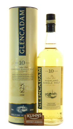 Glencadam 10 Jahre Highland Single Malt Scotch Whisky 0,7l, alc. 46 Vol.-%
