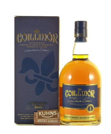 Coillmór 6 Jahre Peated Bourbon Single Cask 0,7l, alc. 46 Vol.-%, Deutscher Whisky