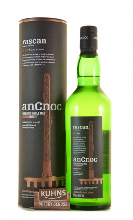 AnCnoc Rascan Speyside Single Malt Scotch Whisky 0,7l, alc. 46 Vol.-%