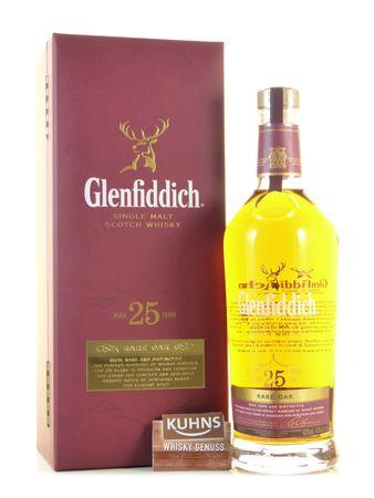 Glenfiddich 25 Jahre Rare Oak 0,7l, alc. 43 Vol.-%, Speyside Single Malt Scotch Whisky
