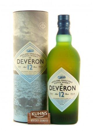 The Deveron 12 Jahre Highland Single Malt Scotch Whisky 0,7l, alc. 40 Vol.-%