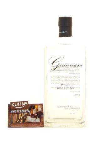 Geranium Premium London Dry Gin 0,7l, alc. 44 Vol.-%, Dry Gin England