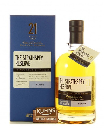 The Strathspey Reserve 21 Jahre Blended Scotch Whisky 0,7l, alc. 40 Vol.-%