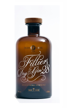 Filliers 28 Dry Gin 0,5l, 46 Vol.-%, Dry Gin Belgien