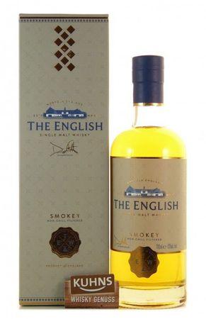 The English Single Malt Whisky Smokey 0,7l, alc. 43 Vol.-%, England Whisky