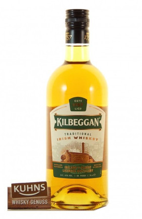 Kilbeggan Irish Whiskey 0,7l, alc. 40 Vol.-%