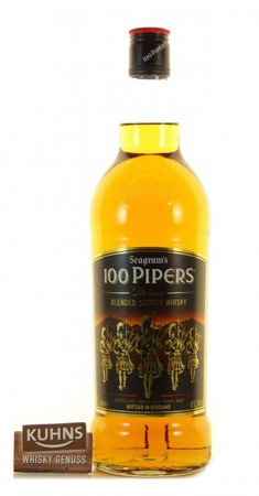 Seagram's 100 Pipers Blended Scotch Whisky 1,0l, alc. 40 Vol.-%