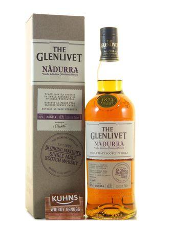 Glenlivet Nadurra Oloroso Speyside Single Malt Scotch Whisky 1,0l, alc. 48 Vol.-%