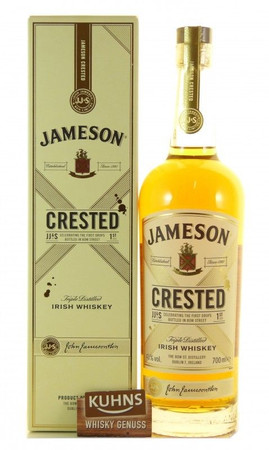 Jameson Crested Irish Whiskey 0,7l, alc. 40 Vol.-%