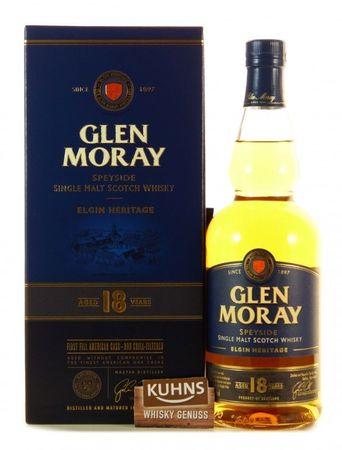 Glen Moray 18 Jahre Speyside Single Malt Scotch Whisky 0,7l, alc. 47,2 Vol.-%