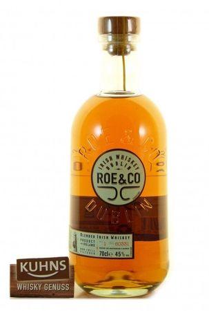 Roe & Co Blended Irish Whiskey 0,7l, alc. 45 Vol.-%, Whiskey Irland