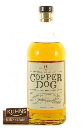 Copper Dog Speyside Blended Malt Scotch Whisky 0,7l, alc. 40 Vol.-%