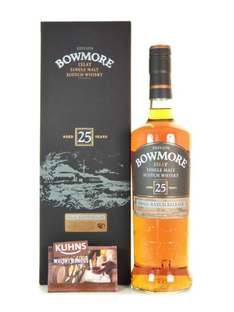 Bowmore 25 Jahre Small Batch Islay Single Malt Scotch Whisky 0,7l, alc. 43 Vol.-%