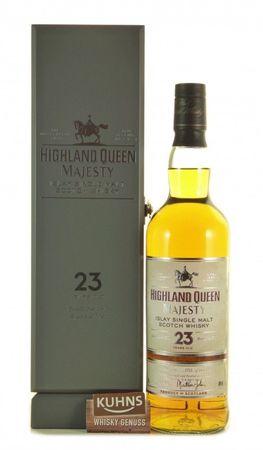 Highland Queen Majesty 23 Jahre Islay Single Malt Scotch Whisky 0,7l, alc. 40 Vol.-%
