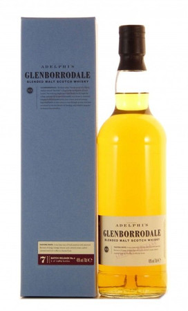 Adelphi Glenborrodale 7 Jahre Batch No.4 Blended Scotch Whisky 0,7l, alc. 46 Vol.-%