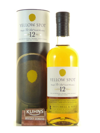 Yellow Spot 12 Jahre Single Pot Still Irish Whiskey 0,7l, alc. 46 Vol.-%