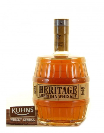 Heritage American Whiskey USA Whisky 0,7l, alc. 40 Vol.-%