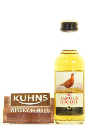 The Famous Grouse Miniatur Blended Scotch Whisky 0,05l, alc. 40 Vol.-%