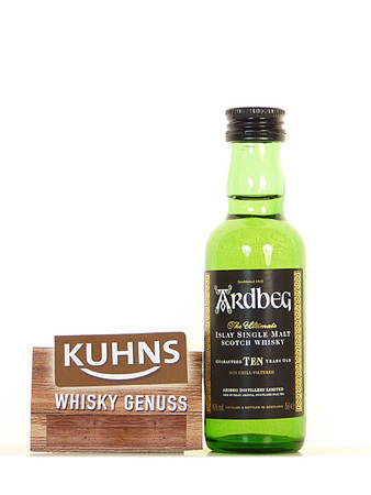Ardbeg TEN 10 Jahre Miniatur 0,05l, alc. 46 Vol.-%, Islay Single Malt Scotch Whisky