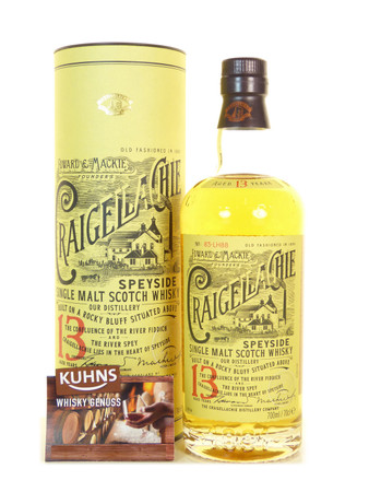 Craigellachie 13 Jahre Speyside Single Malt Scotch Whisky 0,7l, alc. 46 Vol.-%