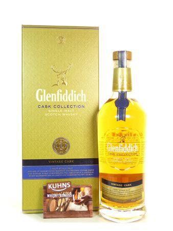 Glenfiddich Vintage Cask Speyside Single Malt Scotch Whisky 0,7l, alc. 40 Vol.-%