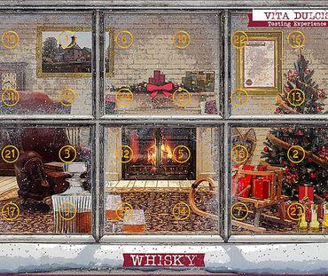 Whisky-Adventskalender Edition Klassik 24x0,02l, Whisky Schottland