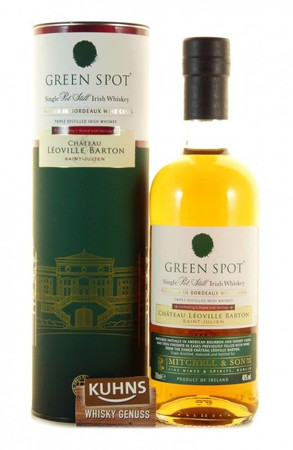 Green Spot Château Léoville Barton Bordeaux Finish Single Pot Still Whiskey 0,7l