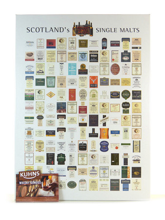 "Whisky Puzzle ""Scotland's Single Malts"""