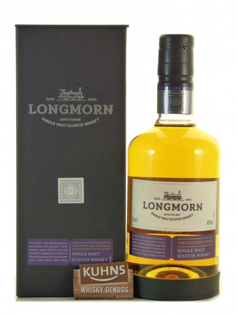 Longmorn The Distiller's Choice Speyside Single Malt Scotch Whisky 0,7l, 40 Vol.-%