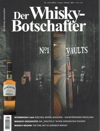 Der Whisky Botschafter 1-2017