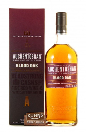 Auchentoshan Blood Oak Lowlands Single Malt Scotch Whisky 0,7l, alc. 46 Vol.-%
