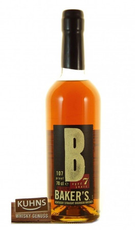 Baker's 7 Jahre Kentucky Straight Bourbon Whiskey 0,7l, alc. 53,5 Vol.-%, USA Whiskey