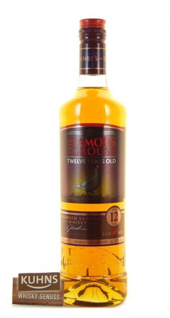 The Famous Grouse 12 Jahre Blended Scotch Whisky 0,7l, alc. 40 Vol.-%