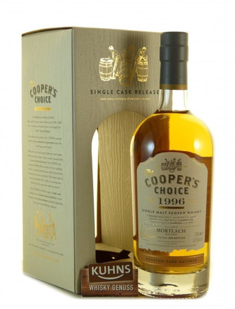 Mortlach 1996-2015 19 Jahre The Coopers Choice Single Malt Scotch Whisky 0,7l, alc. 55,3 Vol.-%