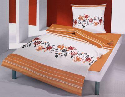 Microfaser Fleece Bettwäsche - zweiteiliger Thermo Bettbezug - Komfortgröße – Bild 2