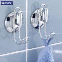 Wenko Smart-Loc Hakenset 2er Set Handtuchhaken Wandhaken Badhaken Handtuchhalter