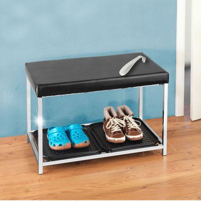 WENKO Schuhregal mit Sitzfläche – Bild 2