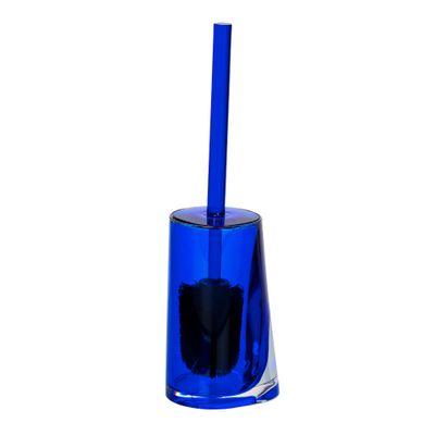 Wenko WC-Garnitur Paradise Blau,Toilettenbürste,Klobürste,WC Bürstenhalter,geschlossen