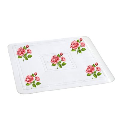 WENKO Duscheinlage Rosen Romatik Duschmatte Antirutschmatte Duschwanneneinlage 55 x 55cm – Bild 1