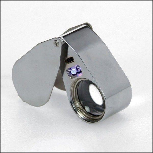 UV-Pr/äzisionslupe