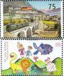BRD 2951,2952 (kompl.Ausg.) gestempelt 2012 Mittenwaldbahn, Kinder