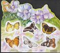 Vanuatu 1406-1411 Folienblatt (kompl.Ausg.) postfrisch 2010 Schmetterlinge