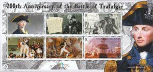 Salomoninseln Block82 (kompl.Ausg.) postfrisch 2005 Seeschlacht von Trafalgar