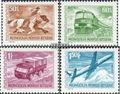 Mongolei 764-767 (kompl.Ausg.) postfrisch 1973 Freimarken: Verkehrsmittel