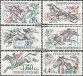 Tschechoslowakei 2469-2474 (kompl.Ausg.) postfrisch 1978 Pferderennen