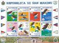 San Marino 1958-1965 Kleinbogen (kompl.Ausg.) postfrisch 2001 Sportspiele