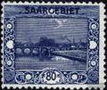 Saarland 62 mit Falz 1921 Landschaftsbilder (I)