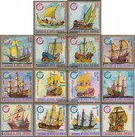 Äquatorialguinea 650-663 (kompl.Ausg.) postfrisch 1975 Schiffe