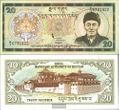Bhutan Pick-Nr: 23 bankfrisch 2000 20 Ngultrum