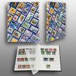 16 weiße Seiten A5 Briefmarken Jugend-Steckbuch Prophila Leuchtturm Einsteckbuch bedruckt